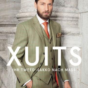 Tweed-Broschüre XUITS