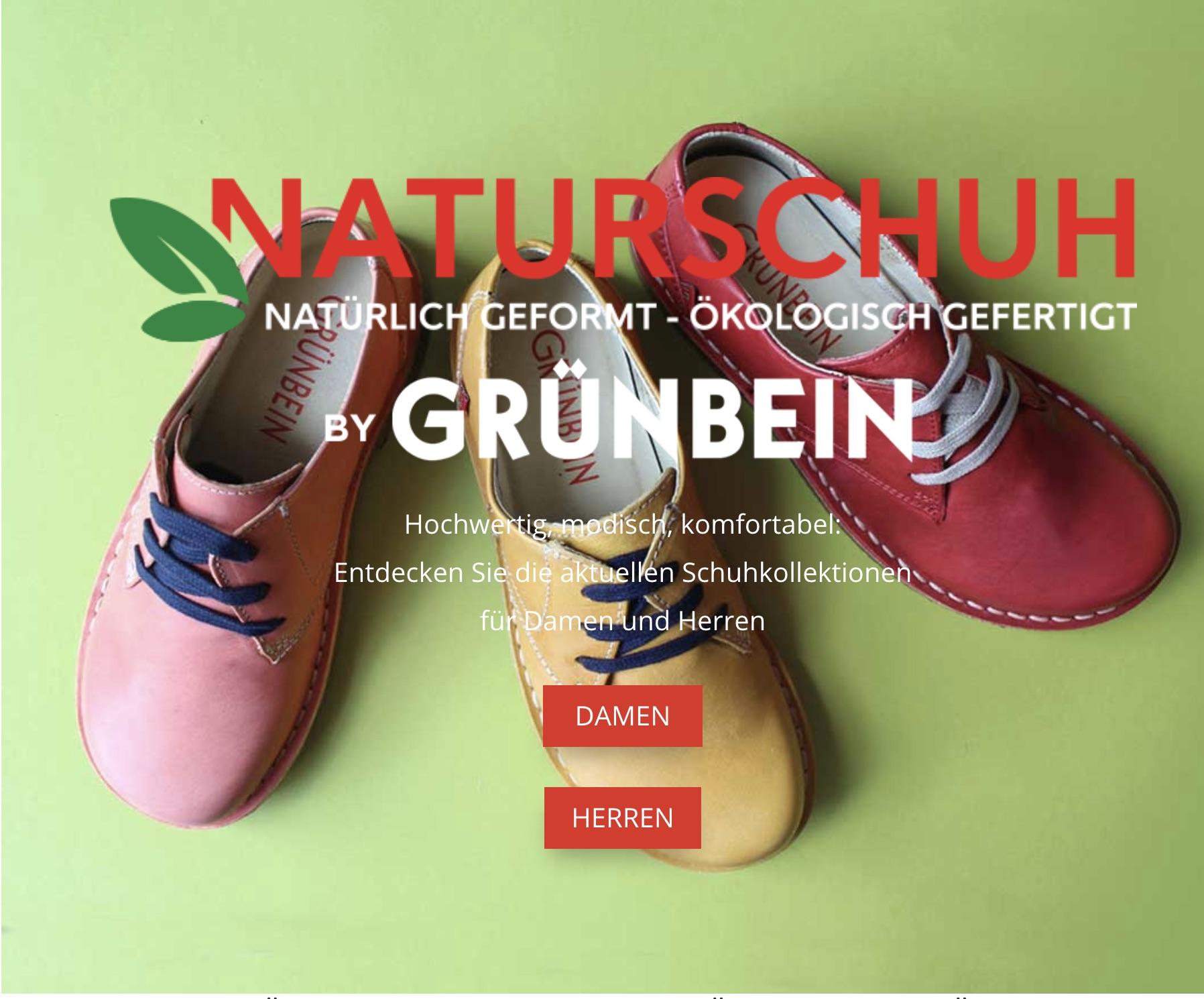 Naturschuh by Gruenbein
